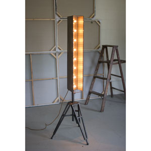 Caged Vertical Marquee Studio Lamp