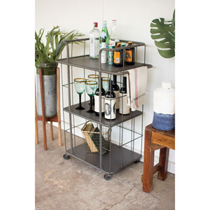 Three Tiered Rolling Cart