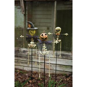 Assorted Halloween Yard Stakes, Set of Three