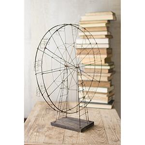 Rustic Wirework Ferris Wheel