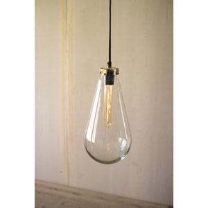 Glass Bulb Pendant Light