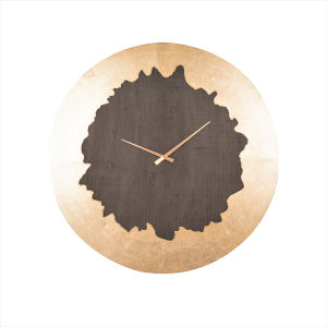 Azalea Stone Gray 32-Inch Wall Clock