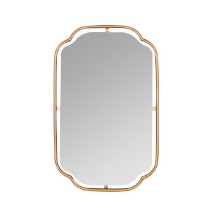 Sebastian Gold 34-Inch Wall Mirror