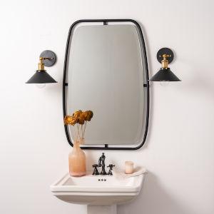 Jaxon Black Wall Mirror