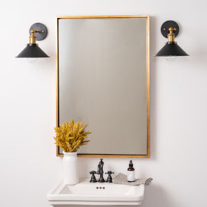 Jordan Gold Wall Mirror