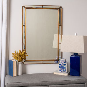 Lyra Gold Wall Mirror