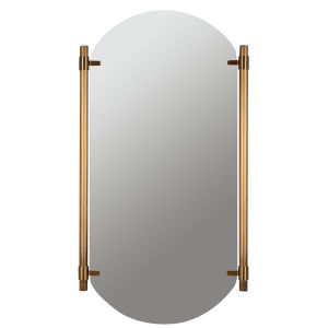 Phoebe Brass 34-Inch Vertical Wall Mirror