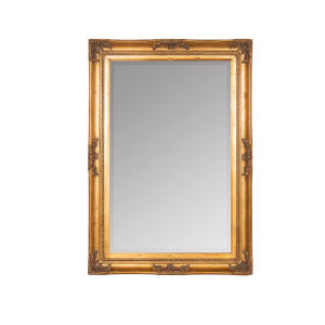 Orion Antique Gold 40-Inch Rectangle Wall Mirror