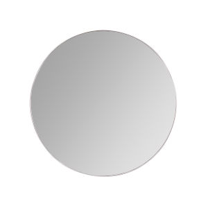 Franco Silver 34-Inch Round Wall Mirror