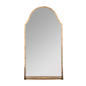 Sawyer Antique Bronze 38-Inch Shelf Wall Mirror