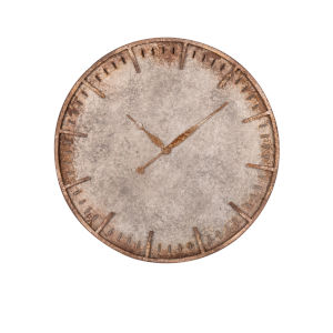 Costello Distressed Metal 27-Inch Wall Clock