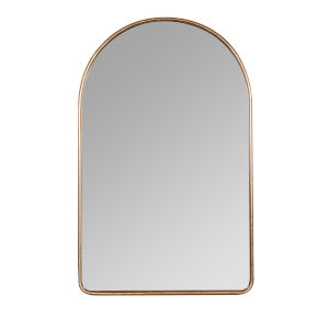 Sebastian Gold 38-Inch Arched Wall Mirror