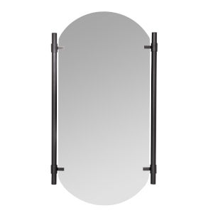 Phoebe Black 34-Inch Vertical Wall Mirror