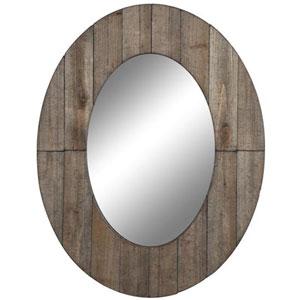 Rustic Grey Mammoth Mirror