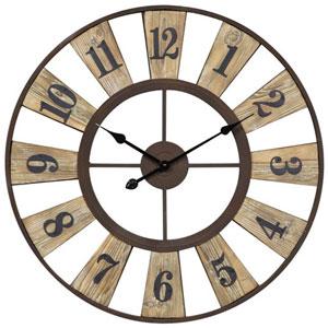 Rustic Bronze Minden Clock