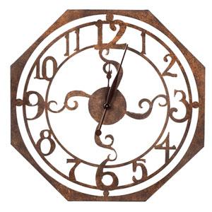 Ruhard Rustic Bronze Clock