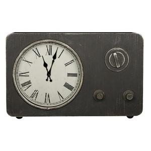 Norman Worn Gray Table Clock