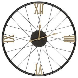 Dedon Black and Gold Clock