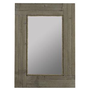 Hatteras Driftwood Gray Wash Mirror