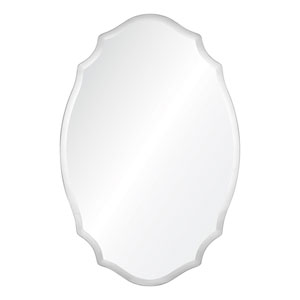 Tia Clear Frameless Mirror
