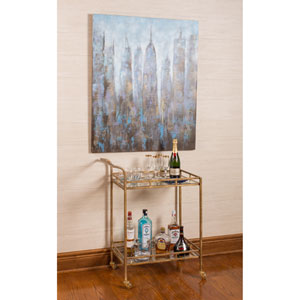 Esther Gold Bar Cart