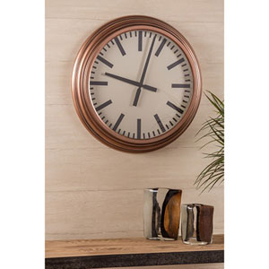 Swanson Copper Clock