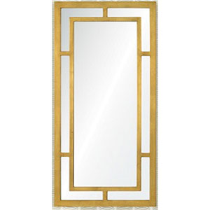 Benedict Gold Rectangular Mirror