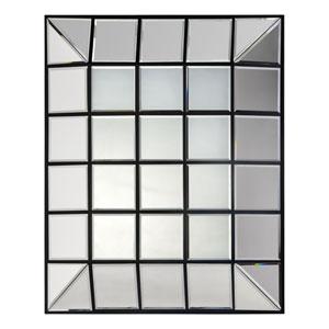 Townsend Black Square Mirror