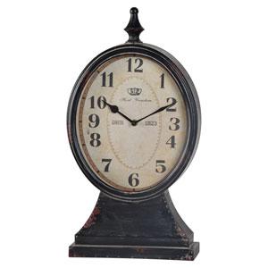 Leo Black Clock