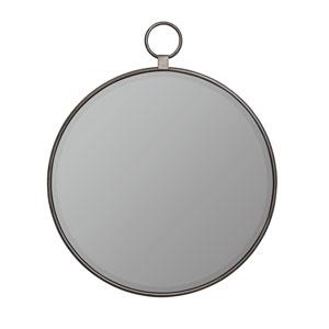 Griffin Gray Round Mirror