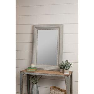 Emmie Blue Rectangular Mirror