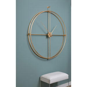 Urban Gold Wall Clock