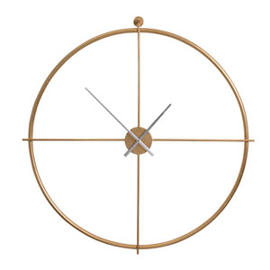 Parsons Gold Wall Clock
