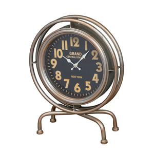 Leigh Silver Wall Clock
