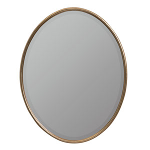 Tiffanee Gold Oval Mirror