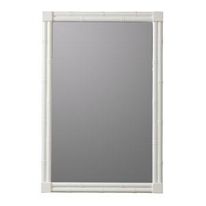 Serena White Rectangular Mirror