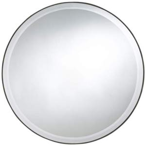 Seymour Round Beveled Mirror