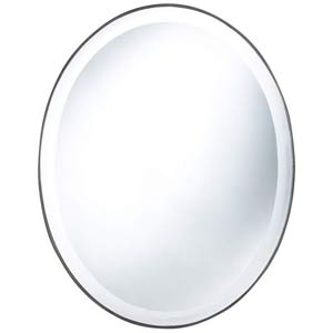 Seymour Oval Beveled Mirror