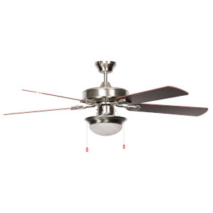Heritage Fusion Stainless Steel 52-Inch LED Ceiling Fan