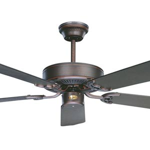 California Oil Rubbed Bronze 52-Inch Energy Star Ceiling Fan
