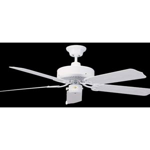 Nautika White 52-Inch Outdoor Energy Star Ceiling Fan