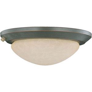 Oil Rubbed Bronze Low Profile EPACT Ceiling Fan Light Kit