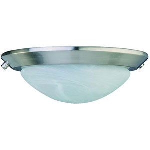 Stainless Steel Low Profile EPACT Ceiling Fan Light Kit