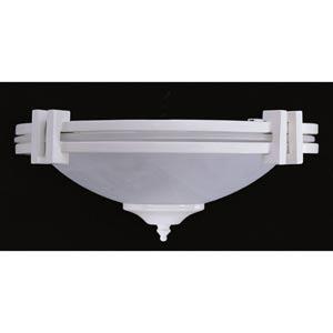 Swiss Coffee Ceiling Fan Light Kit