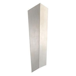 Vega Grey LED ADA Two-Light Wall Sconce