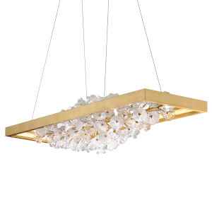 Jasmine Gold 18-Inch Adjustable LED Island Light