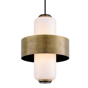 Melrose Vintage Brass Six-Light Pendant