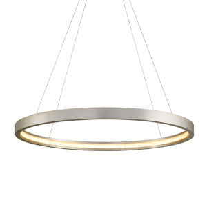 Jasmine Silver 44-Inch Adjustable LED Pendant