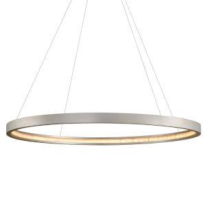 Jasmine Silver 56-Inch Adjustable LED Pendant