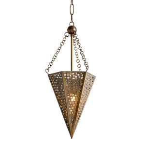 Star Of The East Old World Bronze 10-Inch One-Light Pendant